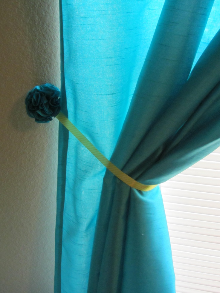 Pin by amanda buttig on the finished turquoise and yellow - Turquoise and yellow curtains ...