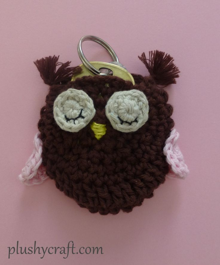 owl key-holder with key