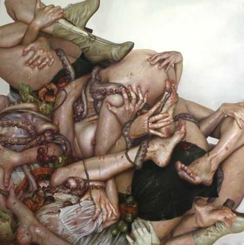 The odd erotic art of Monica Cook www.monicacookart.com