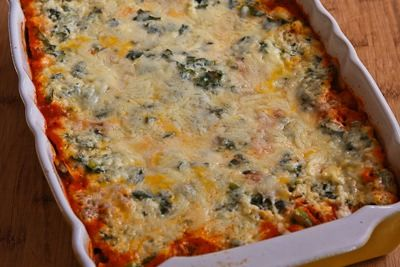 ®: Recipe for Vegetarian Lasagna with Kale and Mushroom-Tomato Sauce ...