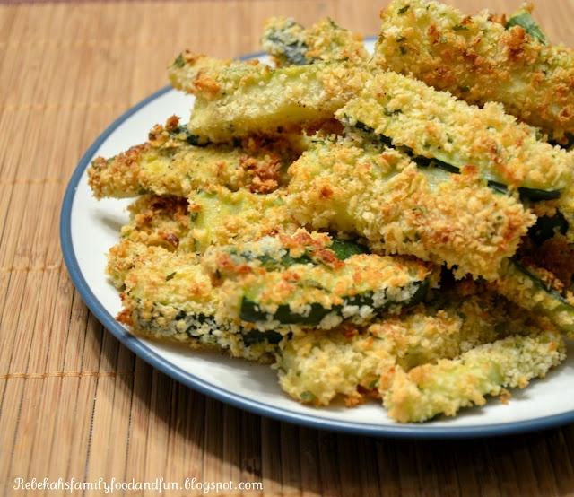 Crispy Baked Zucchini Fries. | Fat girl food :] | Pinterest