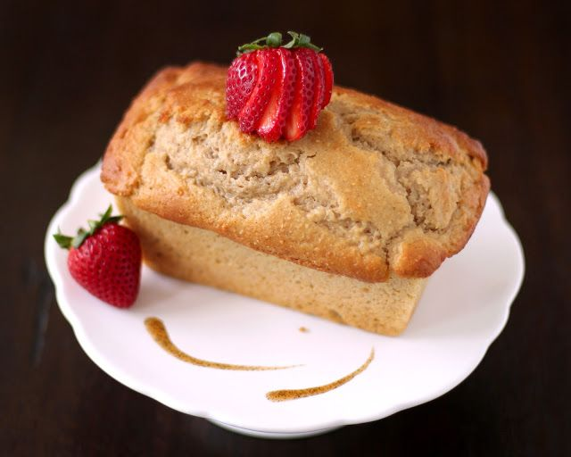 Healthy Whole Wheat Vanilla Bean Pound Cakes (low fat, low sugar, hig ...