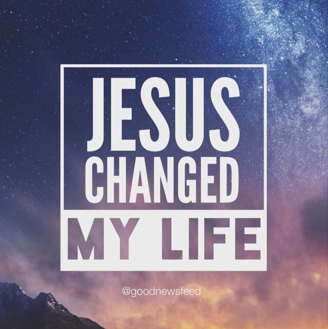 Jesus Changed My Life Quotes. QuotesGram