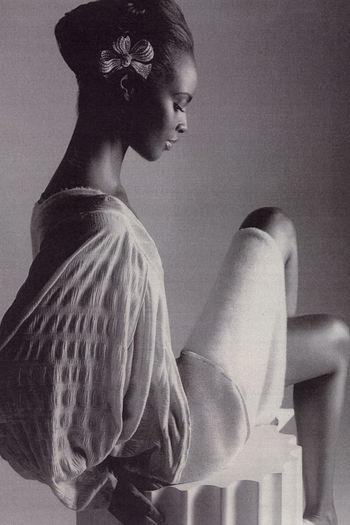 Kiara kabukuru is an american fashion model of ugandan descent