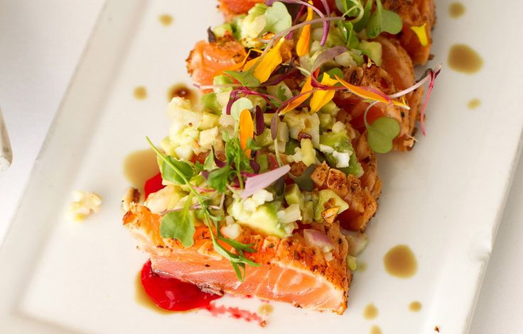 ... Crusted & Cured Salmon with Lobster Guacamole | The Divine Addiction