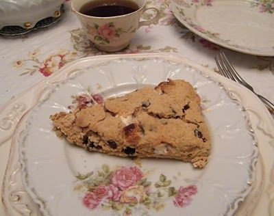 GLITTER AND ROSES: S'More Scones Recipe | Bake - Scones | Pinterest