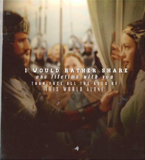 lord of the rings quotes about love quotesgram