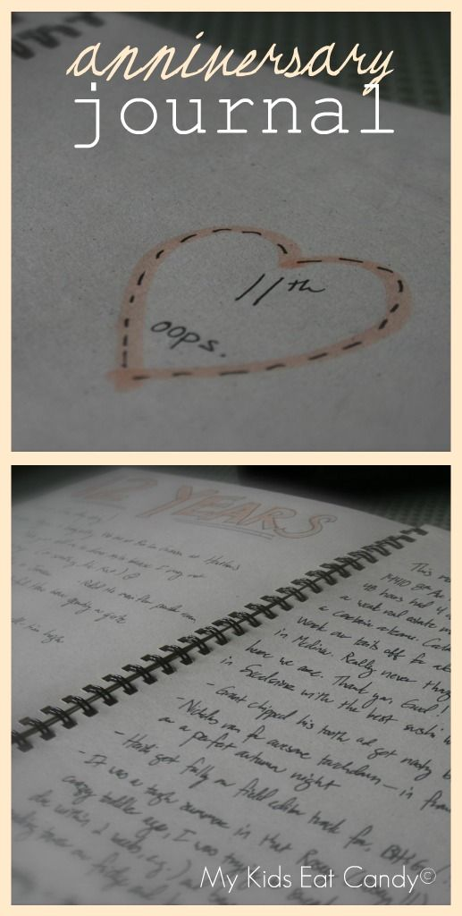 Wedding Gift Journal Suggestions : ... gift for Jeff on our wedding date. We will write in in our wedding