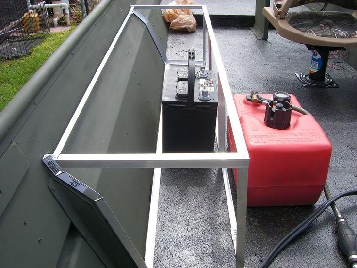 Homemade gun box frame duck boat ideas pinterest for Boat mailbox