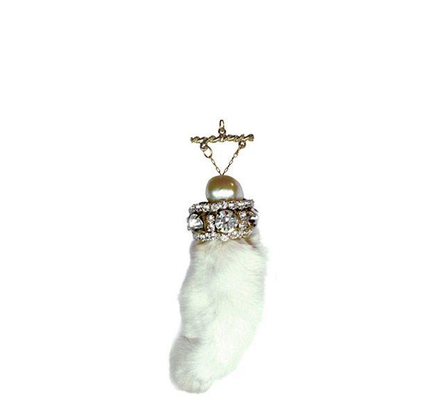 rabbits-foot-pendant | Jewelry | Pinterest