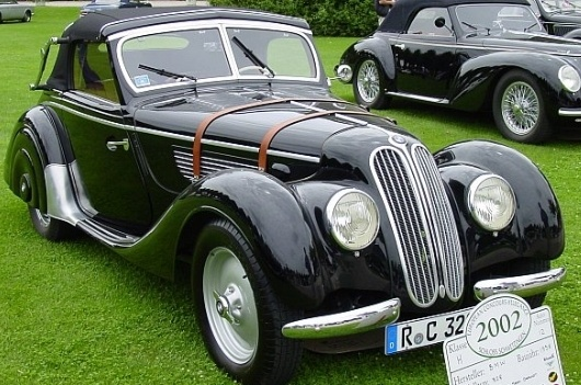 1938 BMW 328 Sports Cabrio, body by Wendler, Reutlingen