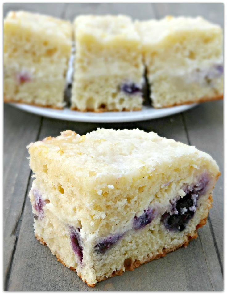 Blueberry lemon cream cheese coffee cake | Recipes I have tried! | Pi ...