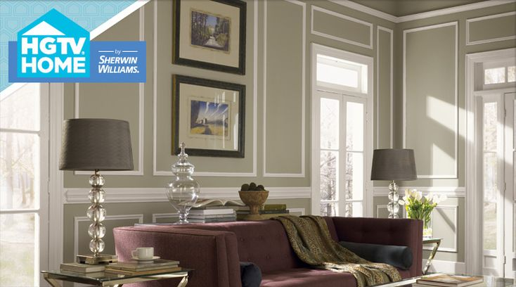 Livable luxe by sherwin williams sherwin williams paint colours - Hgtv living room paint colors ...