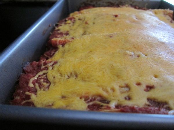 Vegetable Enchiladas - you can substitute 2 chicken breasts for the ...