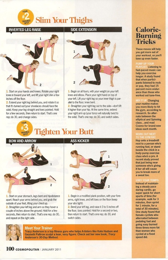 Thigh and Butt exercise | Healthy | Pinterest