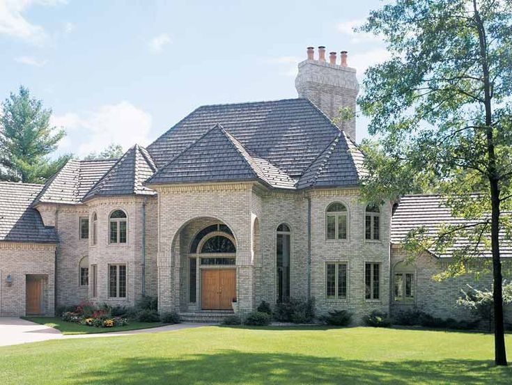 Chateauesque Home Ch 6 Housing Styles Pinterest