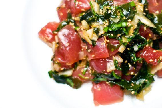 Tuna Poke (pronounced poke-ay)
