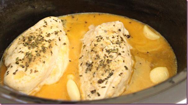 Easy Shredded Crockpot Chicken | Main Dish | Pinterest