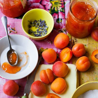 Apricot and Lavender Jam Recipe. For the full recipe and more, click ...