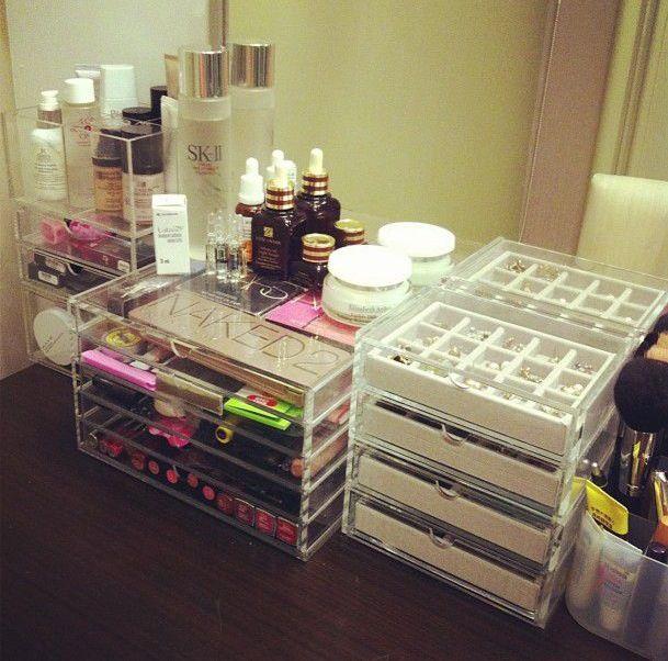 Make Up Storage Inspiration.