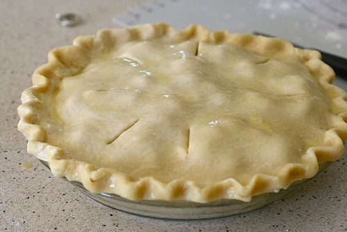 Basic pie dough. Recipe: http://annies-eats.com/2010/06/30/basic-pie ...