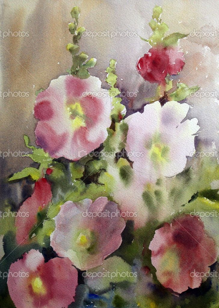 Pin by joyce habegger on art watercolor pinterest for Watercolor painting flowers