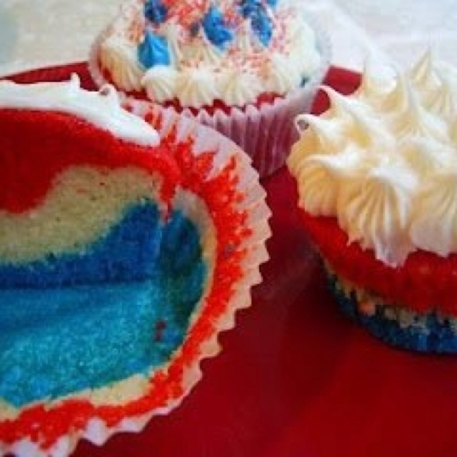 cupcakes for july 4th