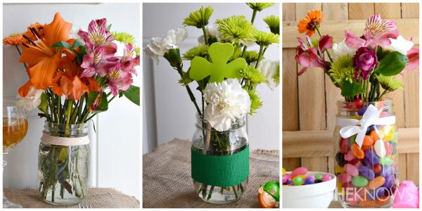 Mason jar centerpieces for spring suzie homemaker
