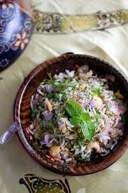 Our recipe of the week is from Malaysia.  Try your hand at Nasi Ulam, which is a mixture of rice and herbs. #NasiUlam #Malaysia #Recipe For more info: rasamalaysia.com