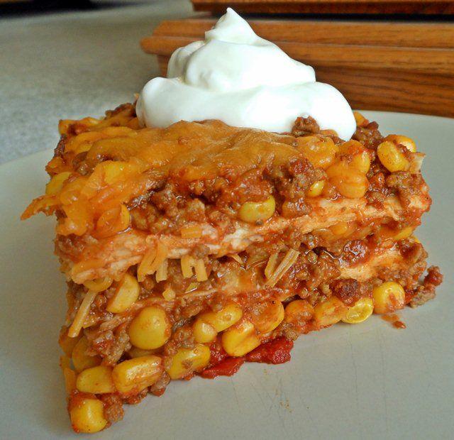 Tex Mex Lasagna | P is for Pasta | Pinterest