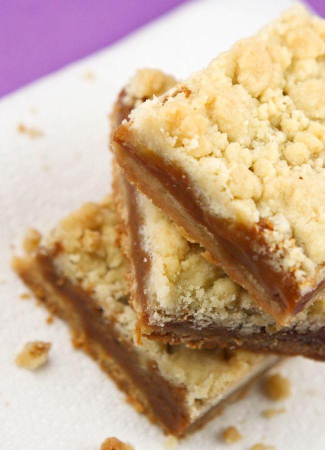 Salted caramel bars. | Bars | Pinterest