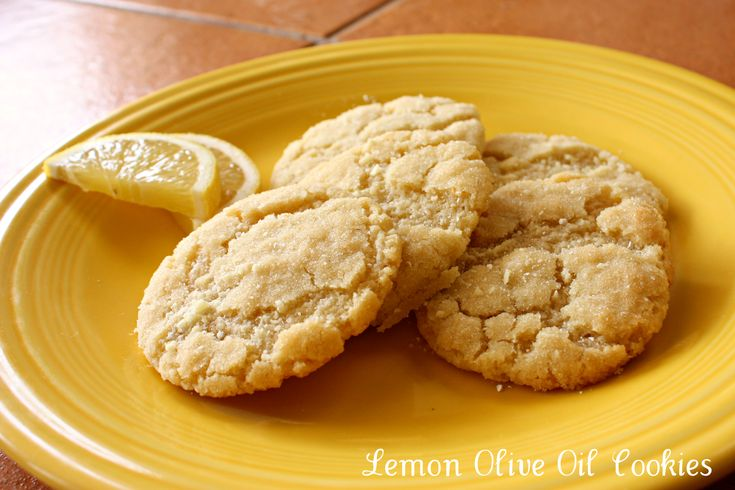 Lemon Olive Oil Cookies made with Nudo Olive Oil | Fields of Cake and ...