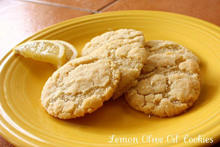 Lemon Olive Oil Cookies Recipe — Dishmaps