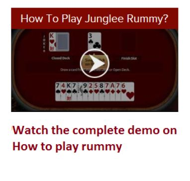 rummy cards how to play
