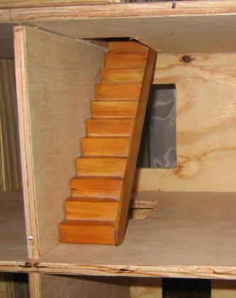 Как сделать лестницу из фанеры своими руками 5