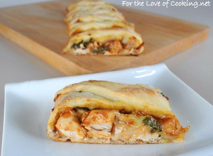 Barbecue Chicken Pizza Braid | Yummy | Pinterest