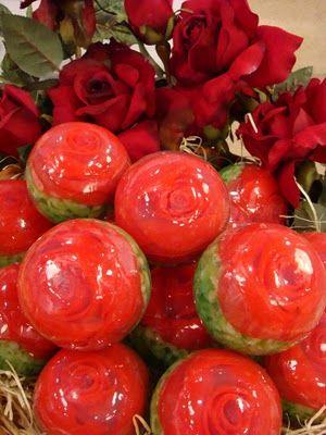 TUTORIAL: Sabonete esfera rosa damascena
