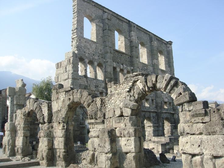 Aosta, Roman theatoro, Italy