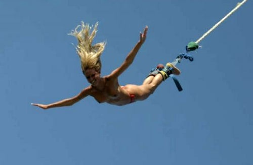 naked bungee jump | Surf, Skate & Sports | Pinterest