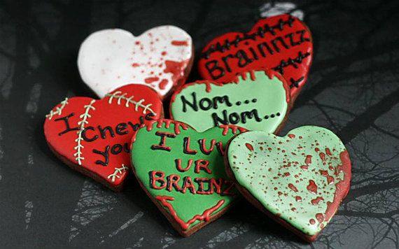 valentines day zombie