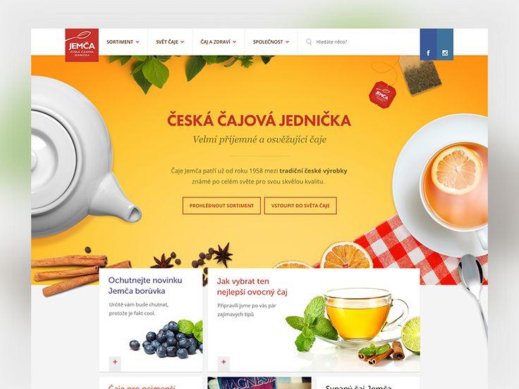 Jemca Tea Homepage by ...