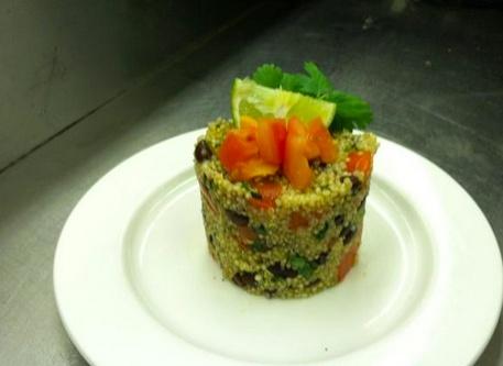 Black Bean & Tomato #Quinoa   ProStart in the Classroom   Pinterest