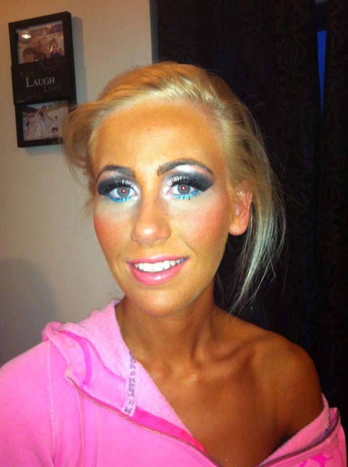 Bikini Competition Hair Makeup