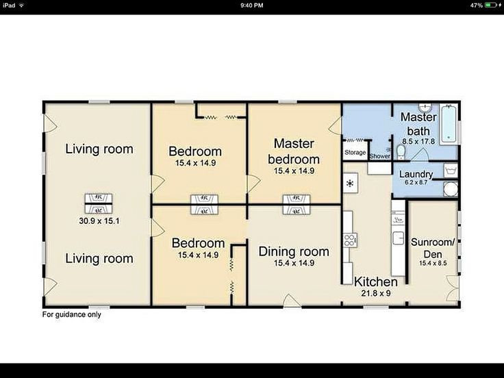 Shotgun House Floor Plan Architect Pinterest