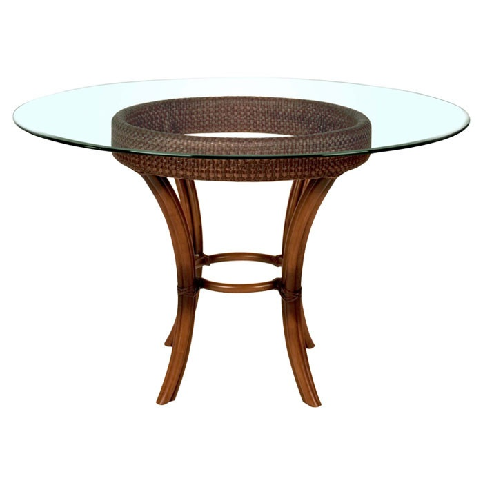 Rattan Dining Table Base Oleanna Wicker Dining Table