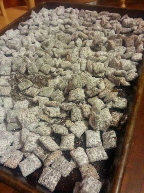 Reindeer Chow-Chow | Sweet B's Impressions | Pinterest