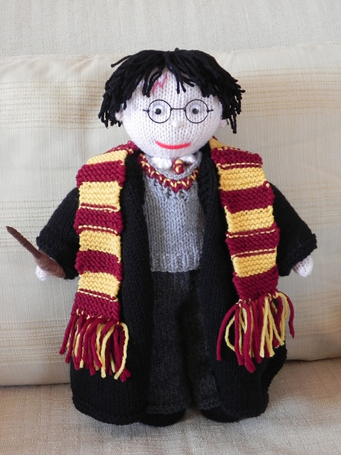 knit Harry Potter doll when i get around tuit Pinterest