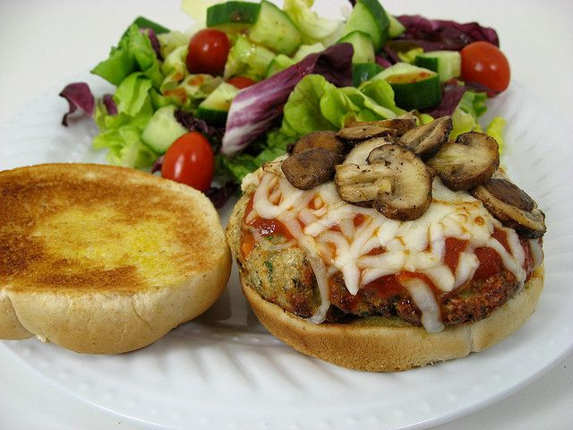 Chicken Parmesan Burgers | recipes to make... | Pinterest