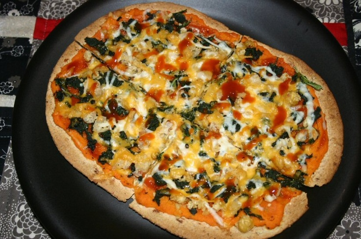 carrot puree pizza sauce?! | Food | Pinterest