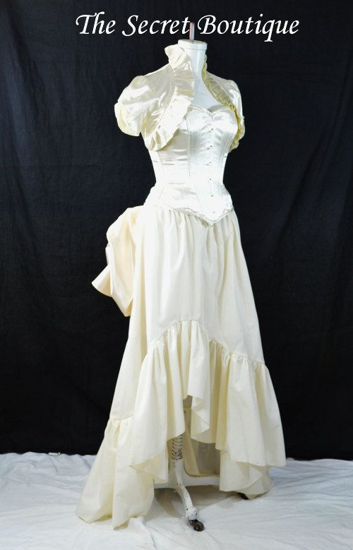 French Country Victorian Wedding Dress